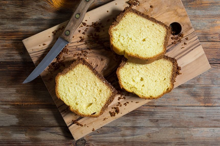 Cream cheese crunch pound cake, a new recipe from baking legend Rose Levy Beranbaum.