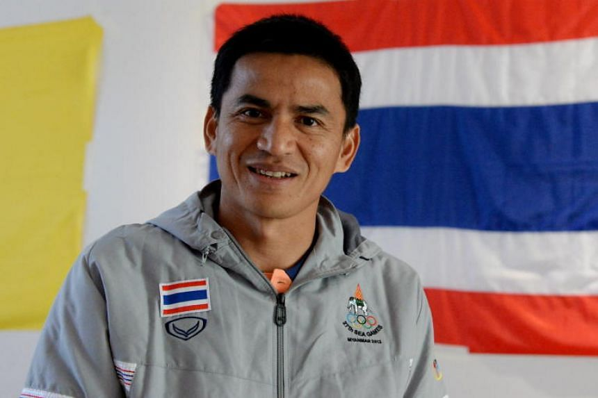 Thailand's football legend Kiatisuk Senamuang is a former national coach of Thailand, guiding the team to two consecutive AFF Cup titles in 2014 and 2016.