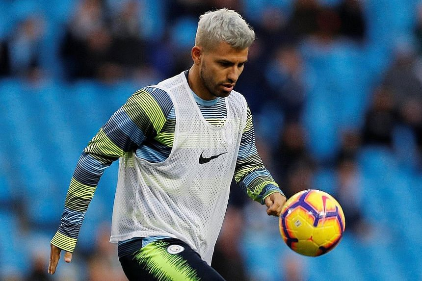 Manchester City striker Sergio Aguero is on fire, leading the EPL scoring charts with eight goals in 12 appearances. He said his fine form was down to knee surgery in April, which has enabled him to lead his team's high-pressing game on a more consis