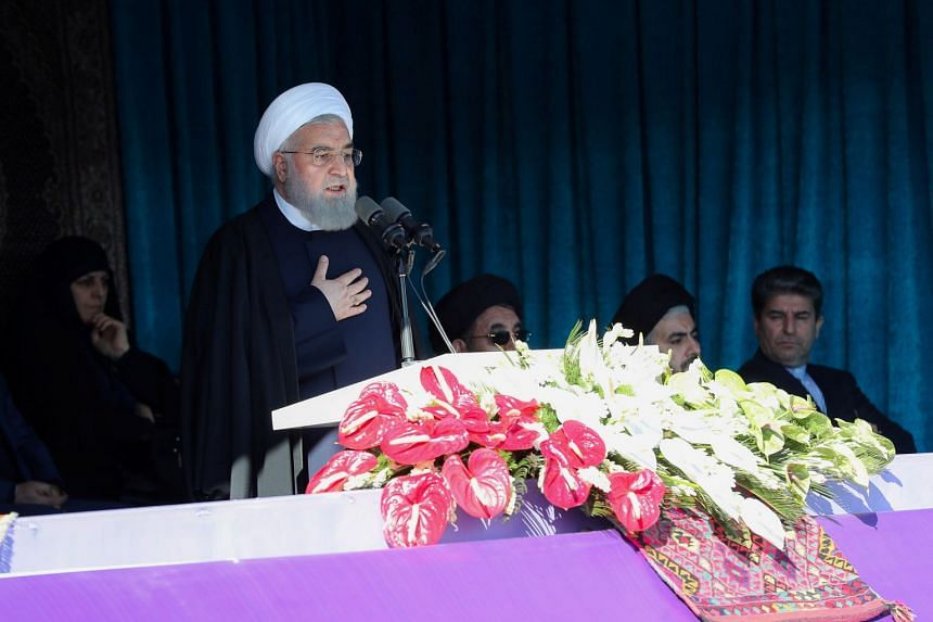 Iranian President Hassan Rouhani called on Muslims worldwide to unite against the United States, at an international conference on Islamic unity in Teheran, Iran.