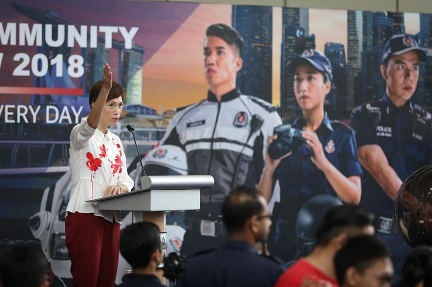 Ms Josephine Teo, Minister for Manpower and Second minister for Home Affairs Teo, announced the launch of the police roadshow and Echo against Scams in her speech on Nov 24.