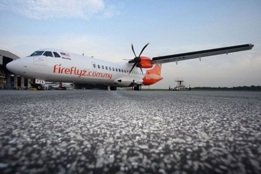 Firefly is the only airline that currently operates turboprop flights to Singapore to and from Subang, Ipoh and Kuantan.