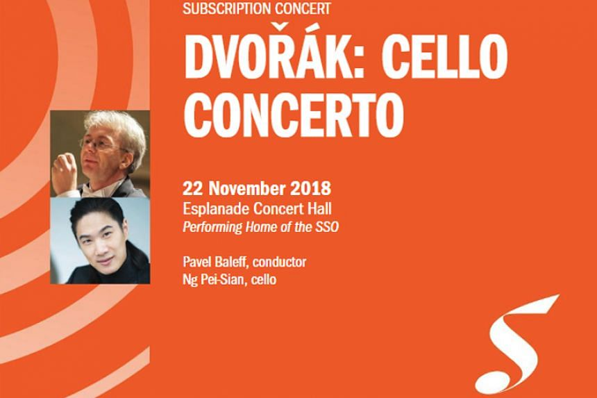 The Singapore Symphony Orchestra chose to celebrate St Cecilia's Day (the patron saint of music) with an all-Dvorak programme.