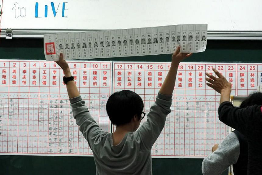 The ruling Democratic Progressive Party not only suffered an unexpected defeat in the second largest city of Taichung, but also lost its long-time stronghold of Kaohsiung.