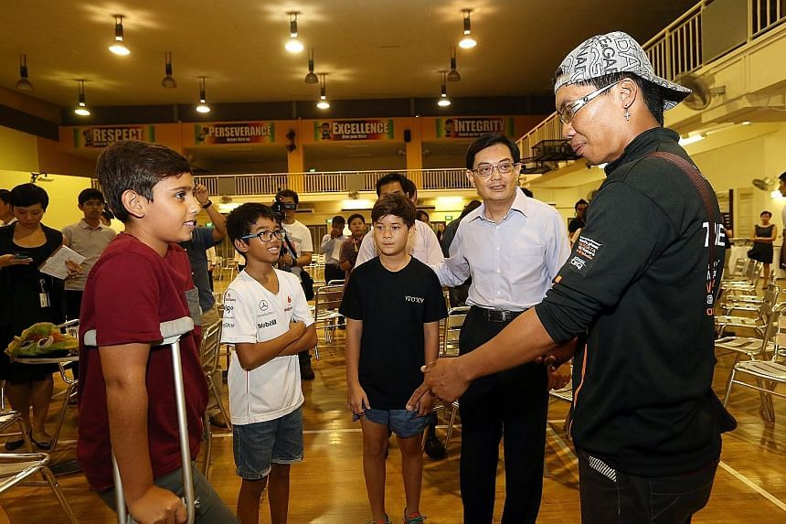 Then Education Minister Heng Swee Keat was present at a tearful reunion at Tanjong Katong Primary School on June 17, 2015, where survivors of the Sabah earthquake shared stories of their Mount Kinabalu ordeal and remembered the friends and loved ones