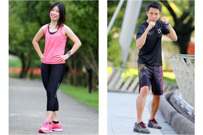 Vanessa Wang and Calvin Ng.