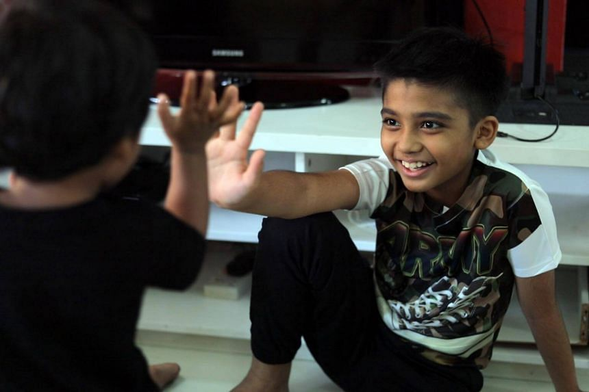 Mohamad Fardeen Altaf, 11, was diagnosed last July with acute liver failure. He was saved by his uncle, who donated a third of his liver.
