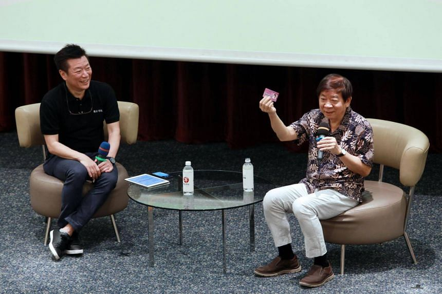 Transport Minister Khaw Boon Wan (right) was speaking at a focus group discussion, on Nov 24, 2018.