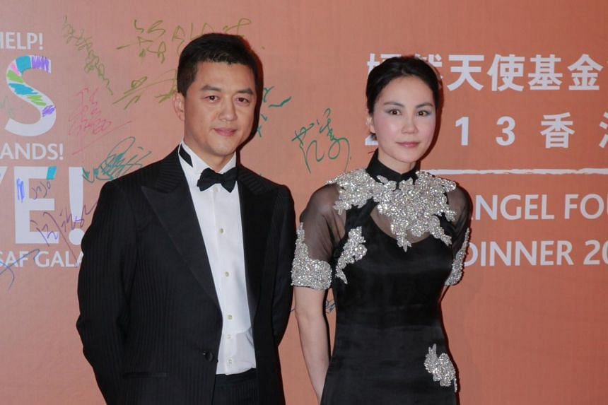 Li Yan, the daughter of Li Yapeng (left) and Faye Wong, went for corrective surgery for her cleft palate in August this year, her father said in an interview.