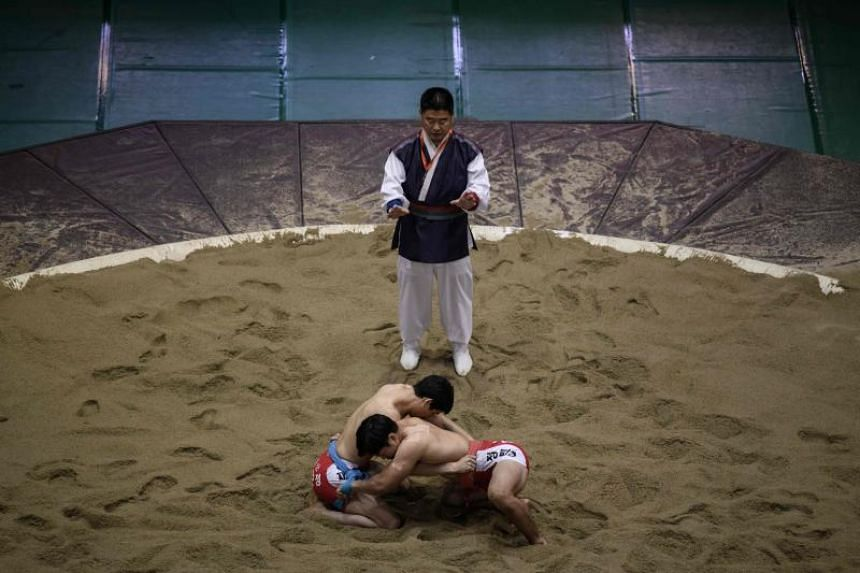 Traditional Korean wrestling, known as ssireum in the South and ssirum in the North, may be the first joint inscription in Unesco's Intangible Cultural Heritage list for the two countries.