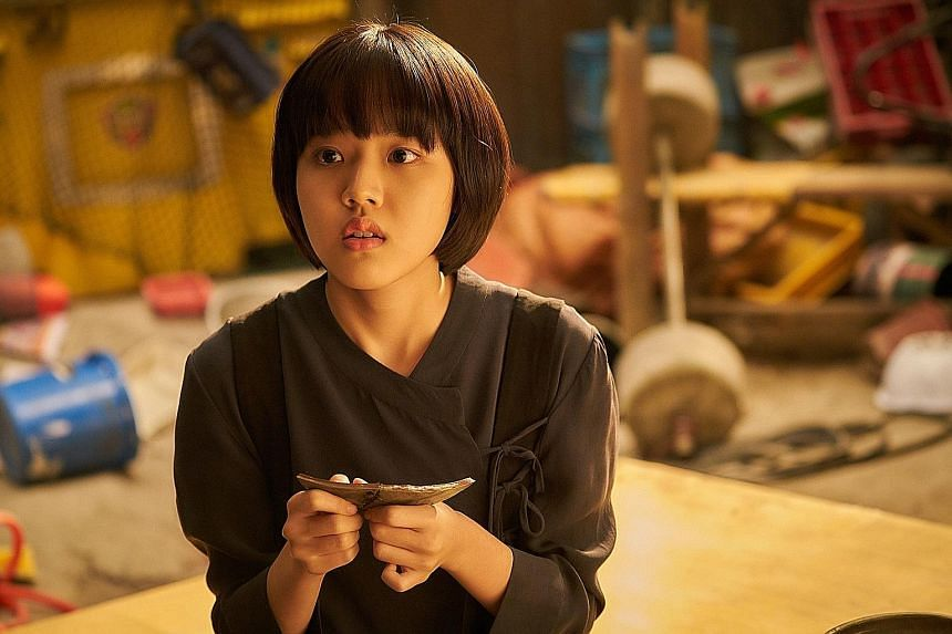 Kim Hyang-gi (above, in Along With The Gods: The Last 49 Days) won the Best Supporting Actress award at the Blue Dragon Film Awards.