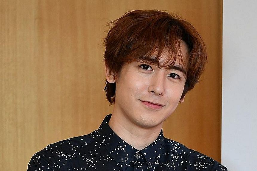 Nichkhun says he can cook steak, pasta and pad kra pao (stir-fried meat with basil).