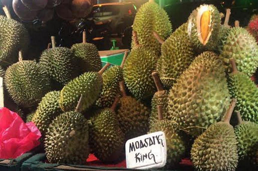 "Chinese pay top dollar for the ""Musang King"" variety of durian, resulting in prices of the variety, now planted all over Malaysia, nearly quadrupling in the last five years."