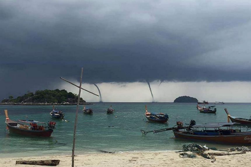 The sudden phenomenon in the Andaman Sea was recorded on videos and photos, and widely shared on social media.