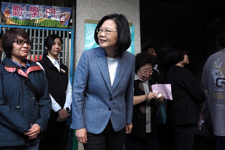 Taiwanese president Tsai Ing-wen resigned as head of the ruling Democratic Progressive Party after a massive electoral defeat on Nov 24.