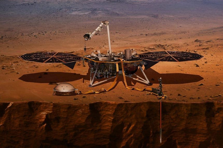 Nasa will try to safely landthe InSight, the first mission spacecraft dedicated to studying the plant Mars, on Nov 26, 2018.