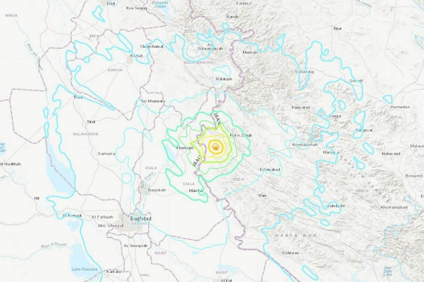 Iran's state news agency said two earthquakes measuring 5.2 and 4.6 on the Richter scale jolted Sarpol-e Zahab on Monday (Nov 26) morning.