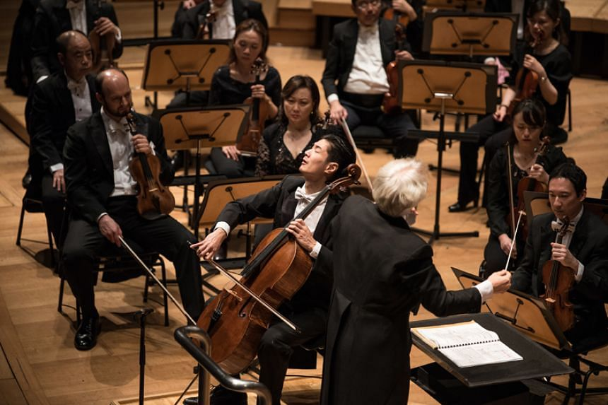 The Singapore Symphony Orchestra's star cellist Ng Pei-Sian put on a performance which reduced him to tears and got the audience exploding with admiration.