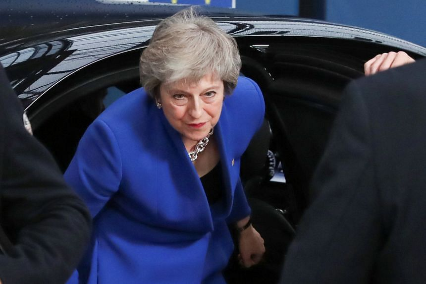 British Prime Minister Theresa May arriving at the EU leaders' summit in Brussels yesterday. The Brexit deal she signed is hated by those who want Britain out of the EU as it ties the British to the Union for years to come. But the deal is also hated