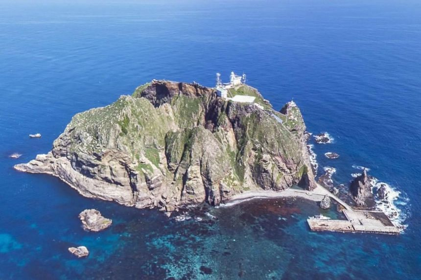 Tokyo and Seoul have long been at loggerheads over the sovereignty of a group of islets, which lie about halfway between the East Asian neighbours in the Sea of Japan, which Seoul refers to as the East Sea.