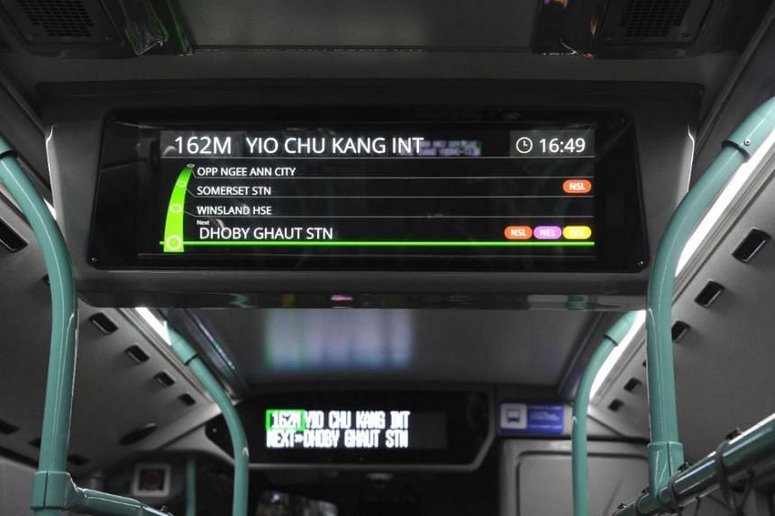 The buses are fitted with an enhanced information display system, among several other features, which will provide commuters with more information about their routes.