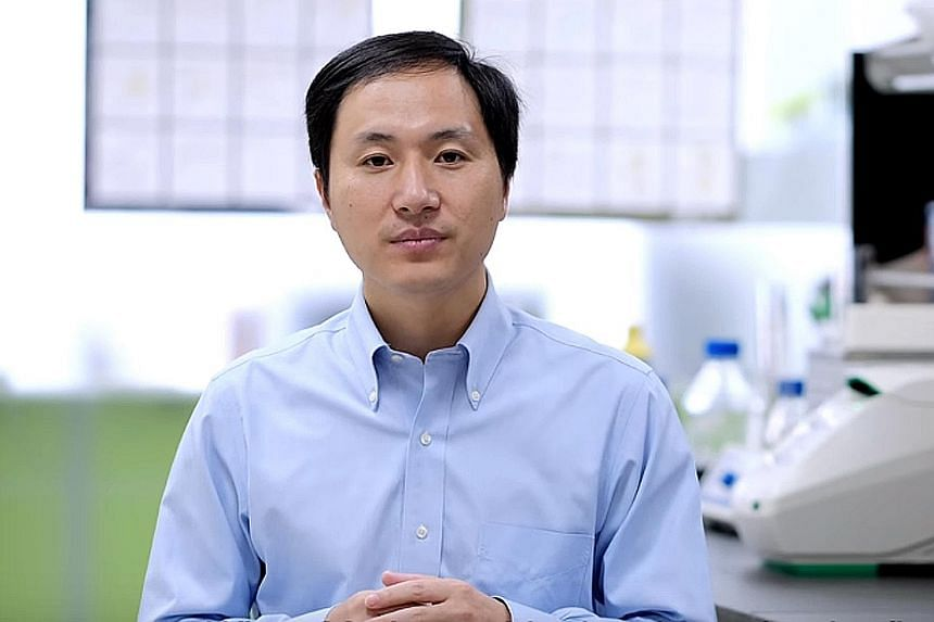 Professor He Jiankui says the DNA of twin girls had been altered to prevent them from contracting HIV.