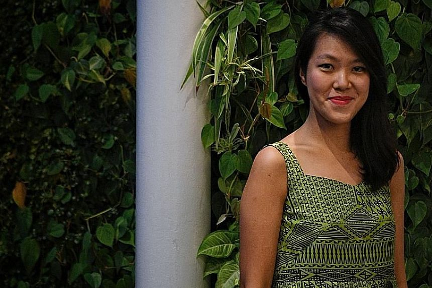 Yeoh Jo-Ann hopes her novel will make people stop and think, and imagine something different.