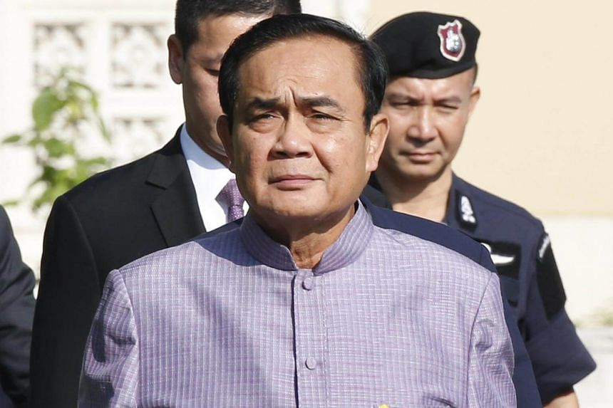 Thai Prime Minister Prayut Chan-o-cha said that he did not need to join any party as of now, though he implied that he was waiting for an invitation.