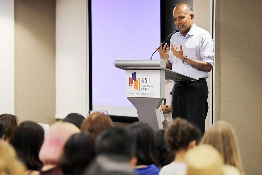 Home Affairs and Law Minister K. Shanmugam revealed these proposed changes at an event organised by women's rights group Association of Women for Action and Research on Nov 26, 2018.