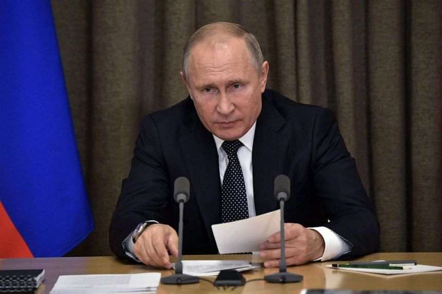 "Russian President Vladimir Putin expressed ""serious concern"" over Ukraine's decision to impose martial law."