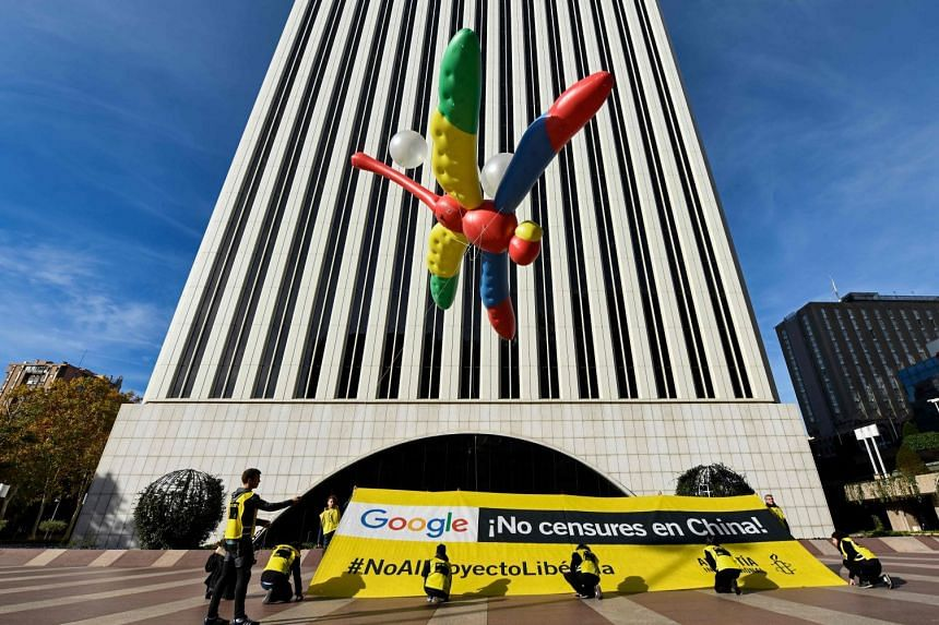 Google has described the censored search engine for Chinese users, known as Project Dragonfly, as an experiment not close to launching.
