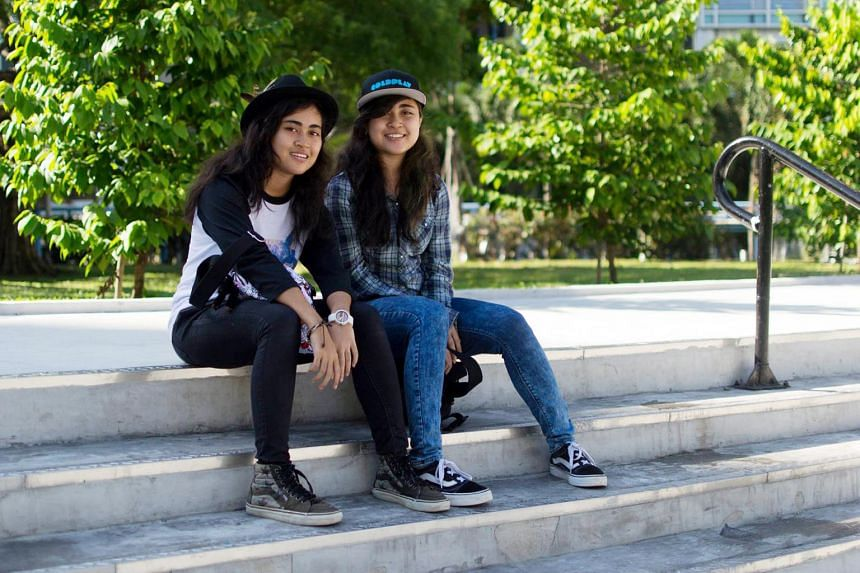 Nasuha Nasser, 21, (right) is currently out on bail after being charged on Nov 26, 2018. Her twin sister Naimi (left) suffered critical head and chest injuries in the accident but is currently in a stable condition.
