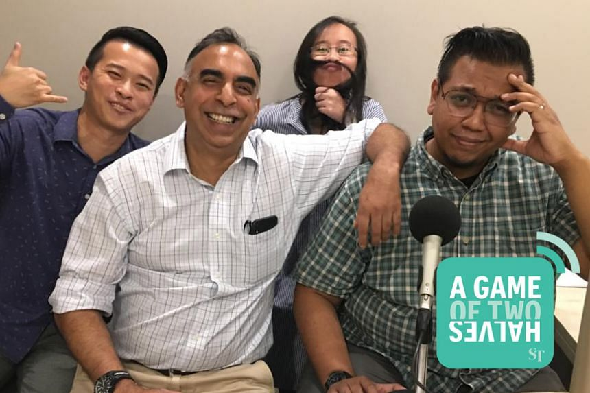 David Lee hosts his ST sports colleagues Rohit Brijnath, Nicole Chia and Sazali Abdul Aziz in this podcast episode of A Game of Two Halves.