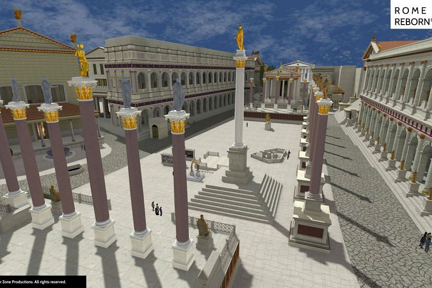 The Rome Reborn tour is the first to show users more than 7,000 buildings and monuments from the year AD320, allowing both those with virtual reality goggles or just a computer to explore the site.