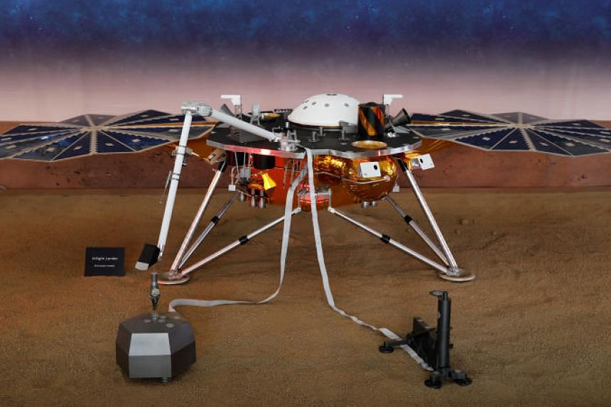 NASA's InSight spacecraft lands on Mars after six-month journey