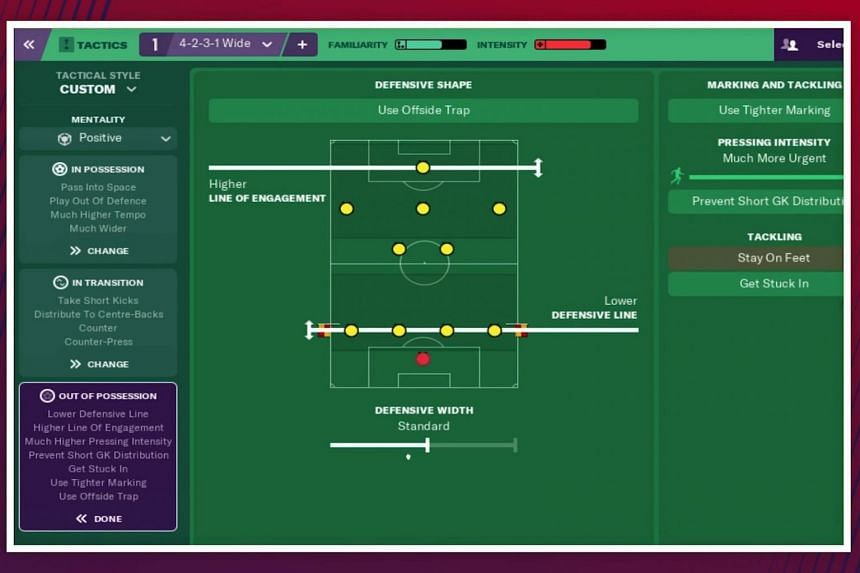 Football Manager 2019 completely revamps its tactics system, with even veteran players requiring a tutorial.