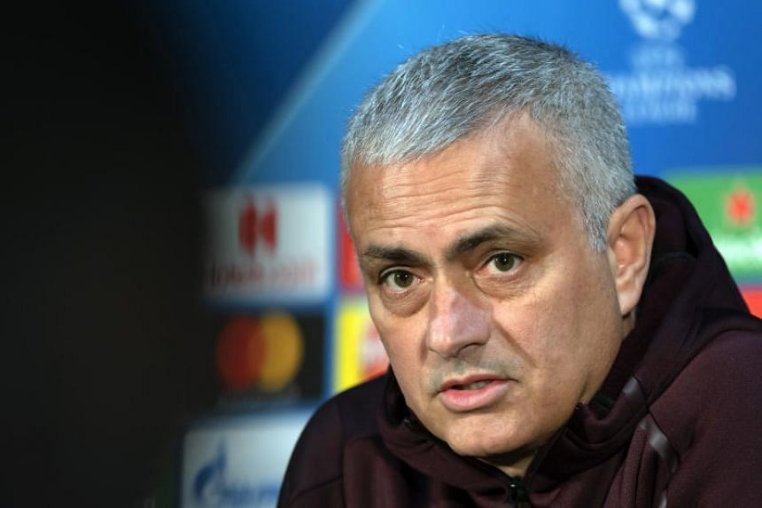 Jose Mourinho laughed off a suggestion that playing at Old Trafford brought added pressure ahead of facing Swiss champions Young Boys.