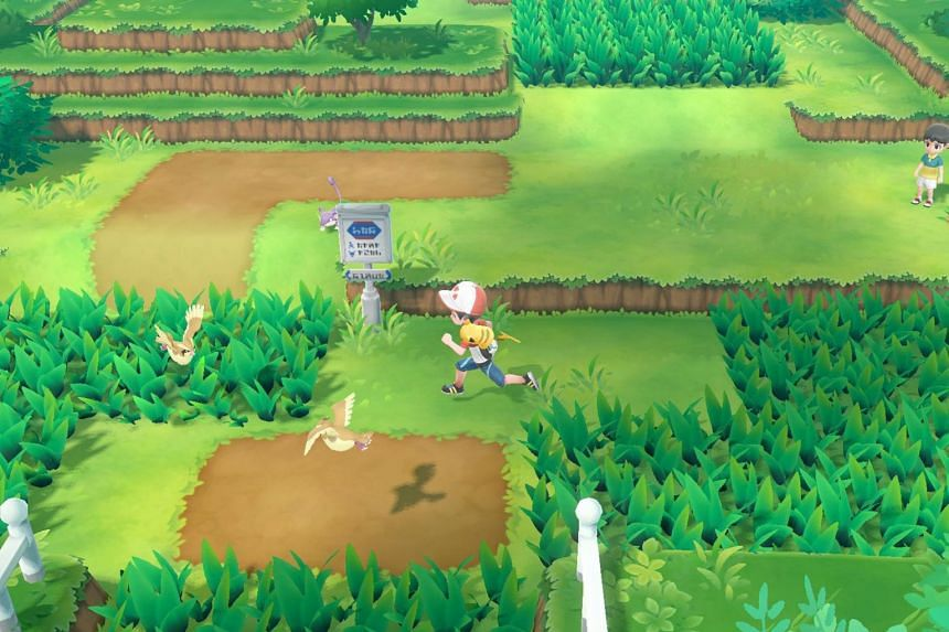 In Pokemon: Let's Go, Eevee! and Pokemon: Let's Go, Pikachu!, you can actually see the Pokemon walking or flying around in the game world, instead of randomly encountering them like in previous Pokemon games