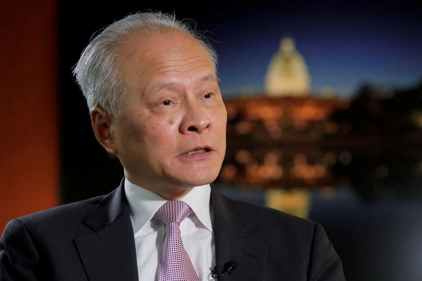 Chinese ambassador to the US Cui Tiankai told Reuters in an interview that China's efforts to combat international terrorism are held to a double standard.
