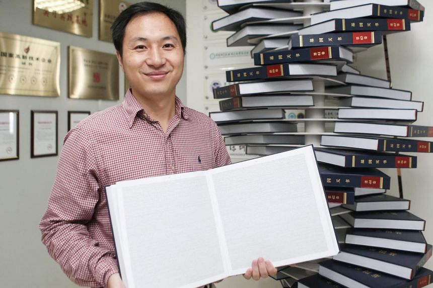 Dr He Jiankui said he will present his data at an international genetics conference in Hong Kong on Wednesday.