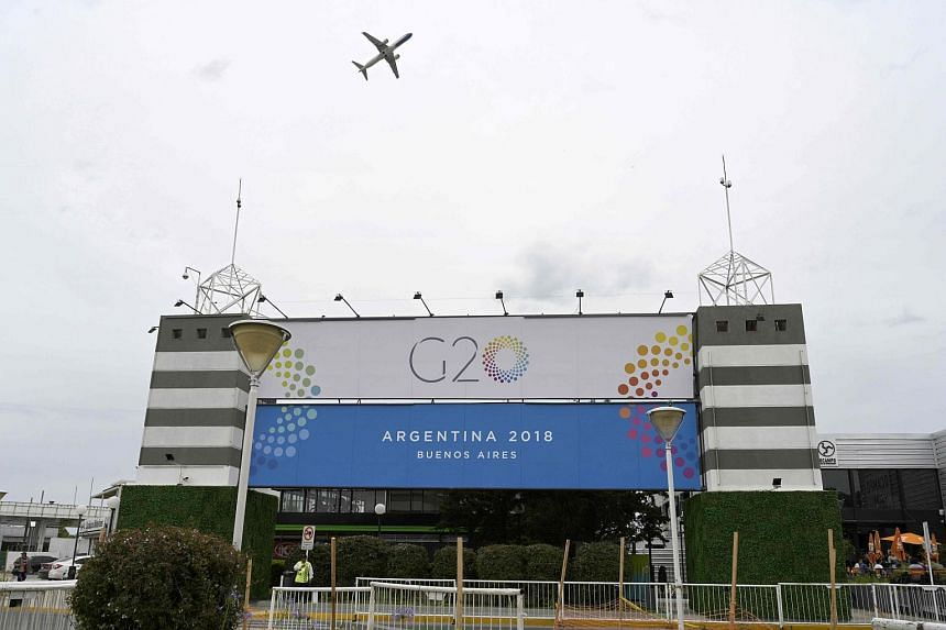 International tensions on trade are likely to come to a head at the upcoming G-20 summit in Buenos Aires, Argentina.
