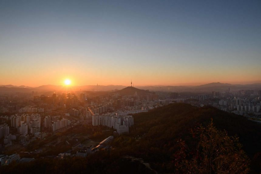 Religious belief is widespread in South Korea, where crosses dot the skylines of cities and towns.