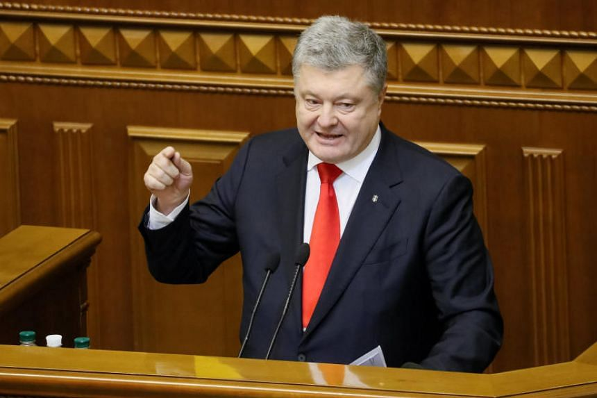 Ukrainian President Petro Poroshenko has sought the introduction of martial law in border areas following a confrontation in the Kerch Strait between Russian and Ukrainian ships on Sunday.