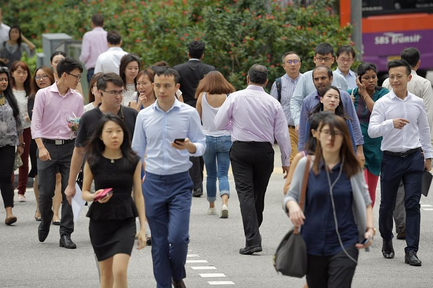 The report also found that job movers in Singapore can expect pay increments of 5 -15 per cent in 2019.
