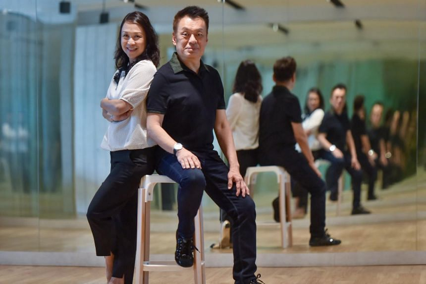 Shawn Tay runs the Shawn and Gladys Dance Academy at Bras Basah Complex with his wife Gladys.