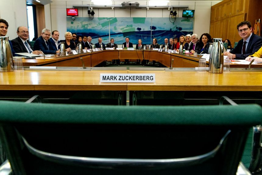 In Facebook chief executive Mark Zuckerberg's absence, officials spent more than three hours grilling a Facebook executive who stood in for him.