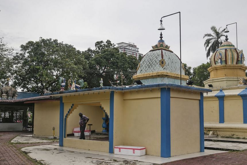 The incident was reportedly triggered by the fracas between two opposing groups over the relocation of the Sri Maha Mariamman temple.