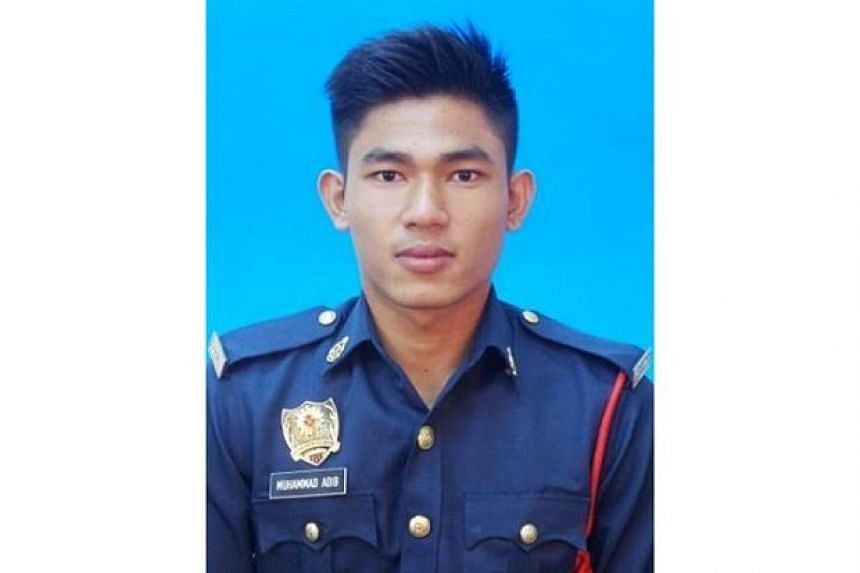 Fireman Muhammad Adib Mohd Kassim, 24, was pulled by one of the rioters from the emergency vehicle he was in and attacked, causing him to suffer broken ribs and other internal injuries.