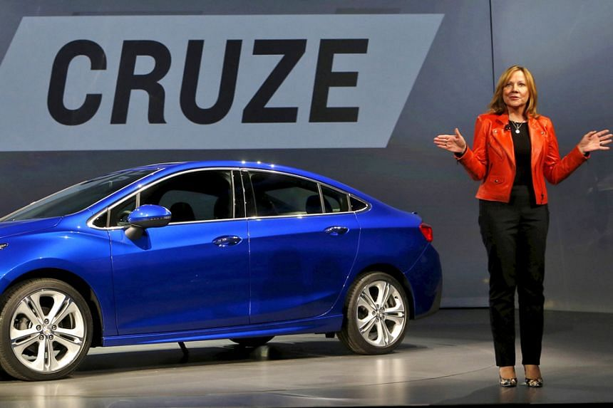 Ms Mary Barra, seen in a 2015 photo, has made several major changes since becoming General Motors' chief executive in January 2014, including shutting plants in Indonesia and Australia, and scrapping a US$1 billion investment in India last year.