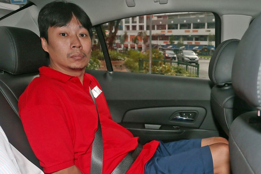 Ng Cheng Kwee (above) and his wife Lee Lai Leng are said to be important operatives in the syndicate behind the scam. Over two months, Lee moved their ill-gotten gains to her brother's Sengkang flat.
